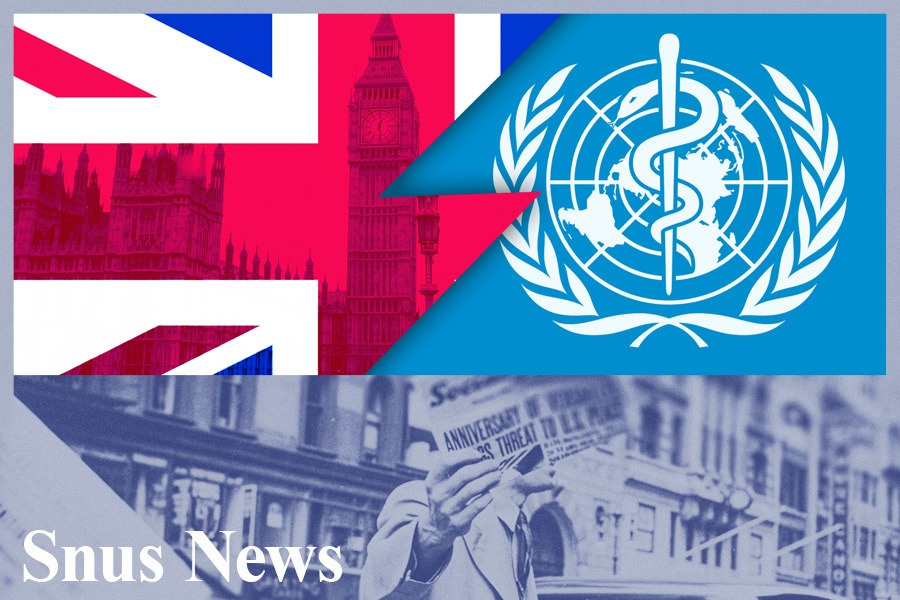 Parlamentsmedlemmer oppfordrer den britiske regjeringen til å kutte finanseringen til WHO