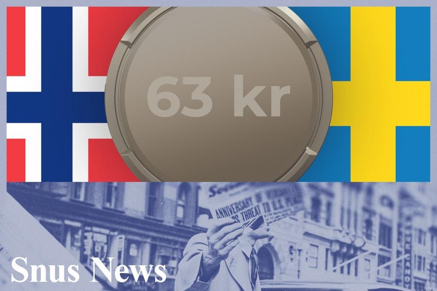 Senkes skatten til svensk nivå kommer Snuslageret til å selge snus for 63kr pr. boks