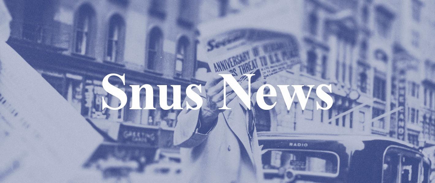 Snus news - siste nytt om snus