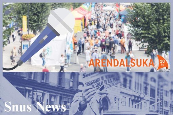 Tobakkspolitikk på gata: hva synes folk i Arendalsuka?