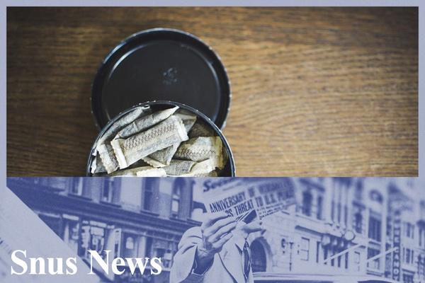 USA: snus kan nå markedsføres som et mindre skadelig alternativ enn sigaretter